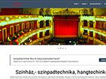 színpadtechnikai, hangtechnikai és fénytechnikai berendezések kereskedelme