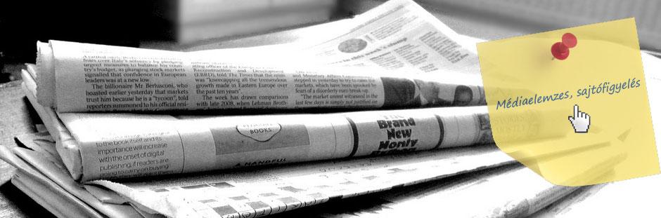 Sajtófigyelés médiaelemzés